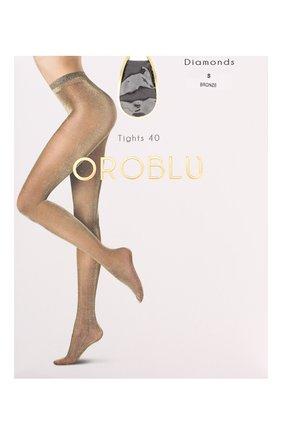 Женские капроновые колготки OROBLU бронзового цвета, арт. V0BC63279 | Фото 1