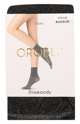 Женские капроновые носки OROBLU черного цвета, арт. V0BC64677 | Фото 1