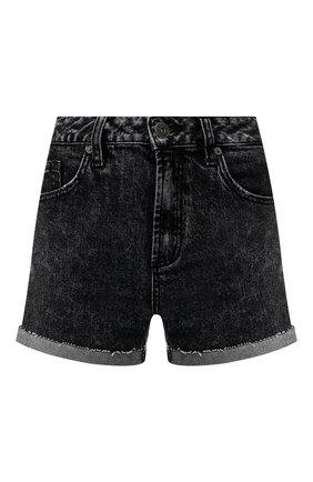 Джинсовые шорты с отворотами | Фото №1