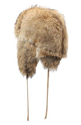 Мужская меховая шапка-ушанка барни FURLAND бежевого цвета, арт. 0170212510001200000 | Фото 2