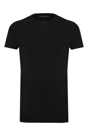 Мужская футболка DEREK ROSE черного цвета, арт. 8007-ALEX001 | Фото 1