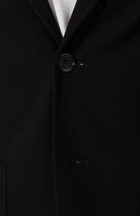 Мужской кашемировый пиджак BOTTEGA VENETA черного цвета, арт. 513767/VELA0 | Фото 5