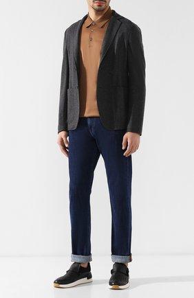 Мужской кашемировый пиджак BOTTEGA VENETA темно-серого цвета, арт. 513767/VELA0 | Фото 2