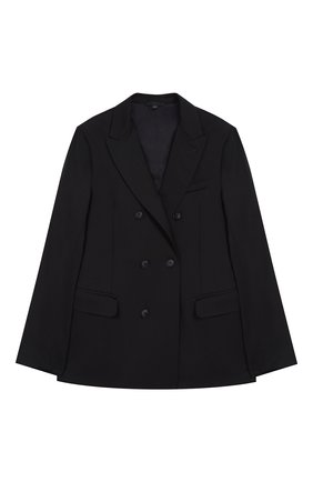Двубортный пиджак из шерсти | Фото №1