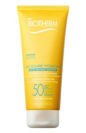 Женский солнцезащитное молочко для тела lait solaire hydrytant spf 30 BIOTHERM бесцветного цвета, арт. 3614271701374 | Фото 1