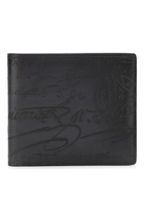 Мужской кожаное портмоне BERLUTI черного цвета, арт. N118709   Фото 1