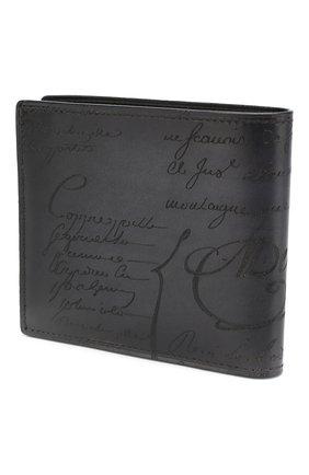 Мужской кожаное портмоне BERLUTI черного цвета, арт. N118709   Фото 2