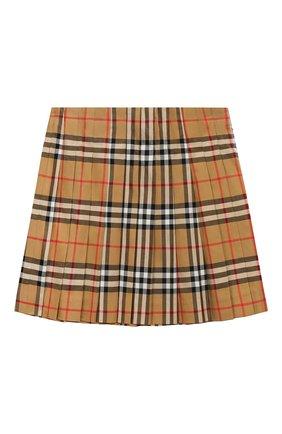 Хлопковая мини-юбка   Фото №1