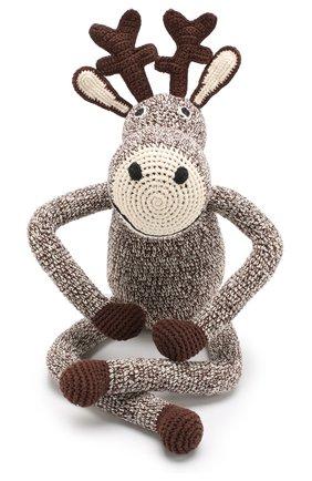 Детского хлопковая игрушка ANNE-CLAIRE PETIT коричневого цвета, арт. 300-058-070 | Фото 1