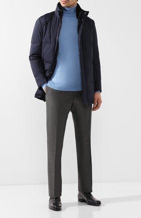 Мужские кожаные оксфорды BERLUTI черного цвета, арт. S4505-002 | Фото 2