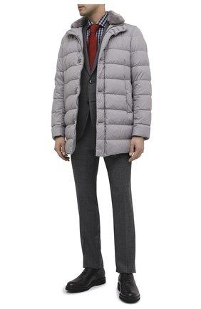 Мужские кожаные оксфорды BERLUTI серого цвета, арт. S4161-001 | Фото 2
