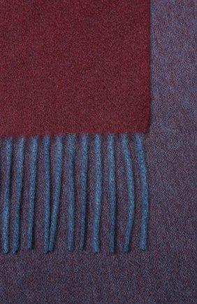 Мужской кашемировый шарф ANDREA CAMPAGNA бордового цвета, арт. 840MI/SCARF | Фото 2