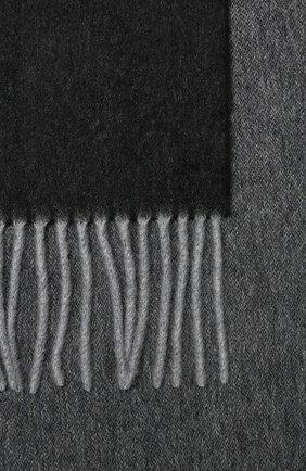Мужской кашемировый шарф ANDREA CAMPAGNA темно-серого цвета, арт. 840MI/SCARF | Фото 2