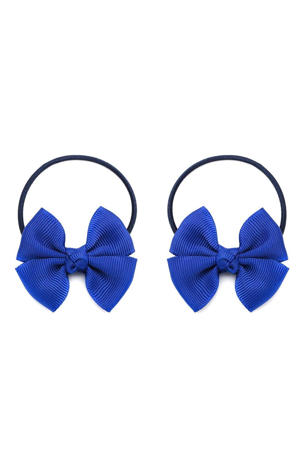 Детская комплект из двух резинок simple go JUNEFEE синего цвета, арт. 4442   Фото 1