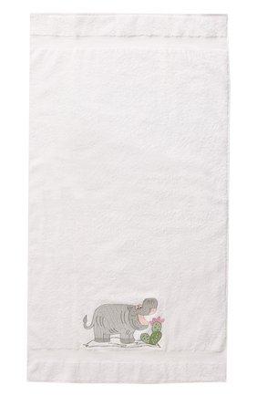 Детского хлопковое полотенце LORETTA CAPONI белого цвета, арт. 182K08248301301.GREY | Фото 2