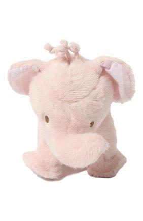 Детского плюшевая игрушка слон TARTINE ET CHOCOLAT светло-розового цвета, арт. T30110H | Фото 2