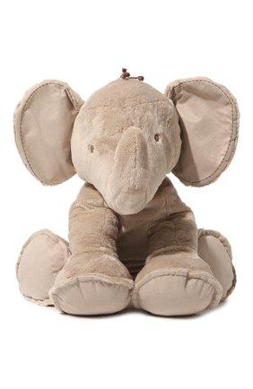 Детского плюшевая игрушка слон TARTINE ET CHOCOLAT бежевого цвета, арт. T30410H | Фото 2