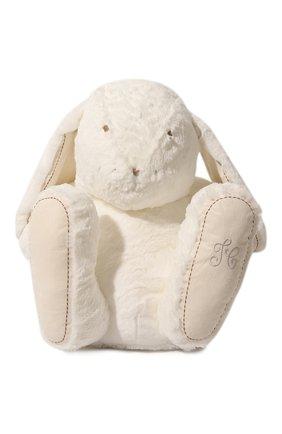 Детского плюшевая игрушка кролик TARTINE ET CHOCOLAT белого цвета, арт. T30730H | Фото 1