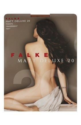 Женские капроновые колготки matt deluxe FALKE бежевого цвета, арт. 40620_ | Фото 1
