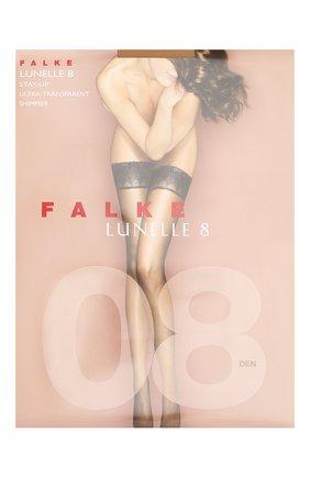 Женские капроновые чулки lunelle FALKE телесного цвета, арт. 41532_ | Фото 1