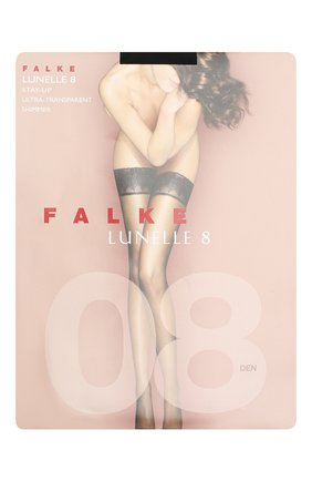 Женские капроновые чулки lunelle FALKE черного цвета, арт. 41532_ | Фото 1