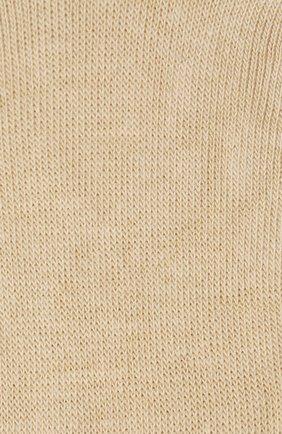 Женские хлопковые подследники step invisible FALKE бежевого цвета, арт. 47567_ | Фото 2