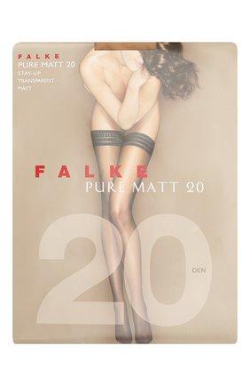 Женские капроновые чулки pure matt FALKE телесного цвета, арт. 41513_ | Фото 1