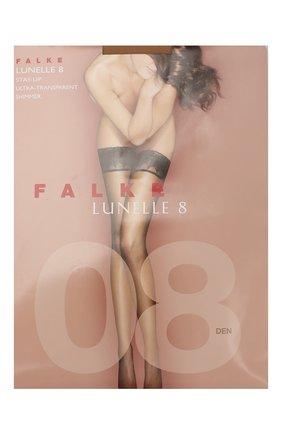 Женские капроновые чулки lunelle FALKE светло-бежевого цвета, арт. 41532_ | Фото 1