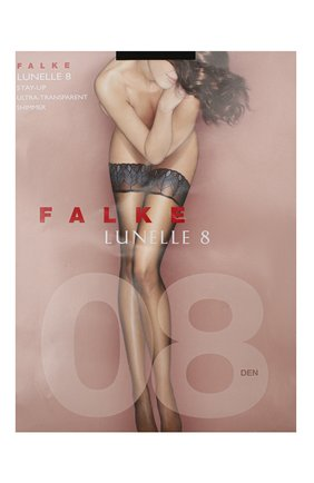 Женские капроновые чулки lunelle FALKE черного цвета, арт. 41534_ | Фото 1