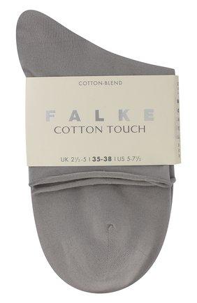 Женские хлопковые носки cotton touch FALKE серого цвета, арт. 47539_ | Фото 2