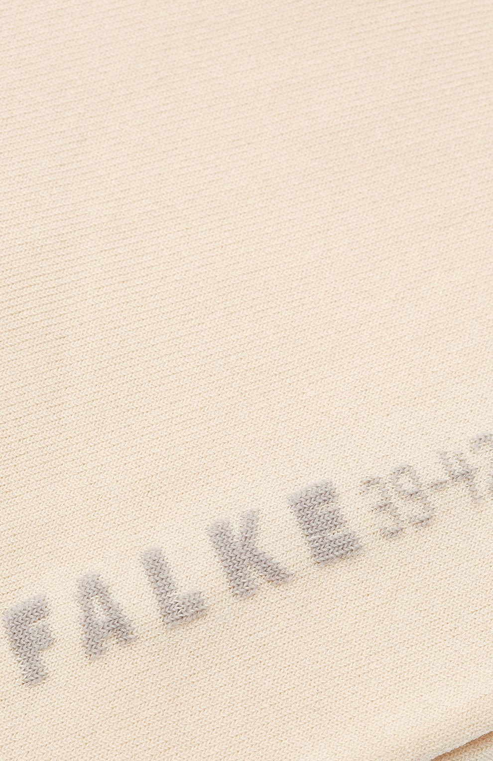 Женские хлопковые носки cotton touch FALKE бежевого цвета, арт. 47539_ | Фото 2