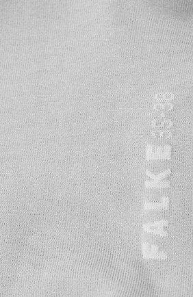 Женские хлопковые носки cotton touch FALKE серого цвета, арт. 47673_ | Фото 2