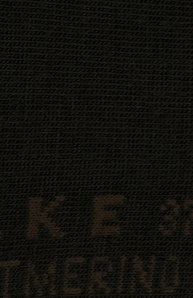Женские носки softmerino из смеси шерсти и хлопка FALKE коричневого цвета, арт. 47488_ | Фото 3