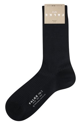 Женские шелковые носки no. 2 finest silk FALKE черного цвета, арт. 46175_ | Фото 1
