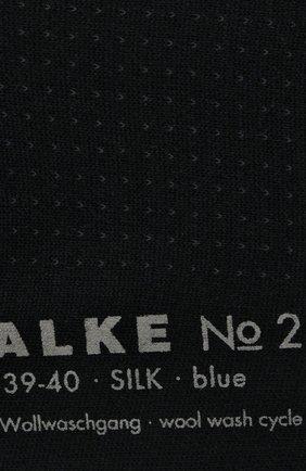 Женские шелковые носки no. 2 finest silk FALKE черного цвета, арт. 46175_ | Фото 2