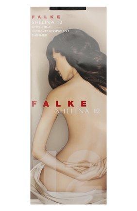 Женские капроновые гольфы shelina FALKE черного цвета, арт. 41726_ | Фото 1