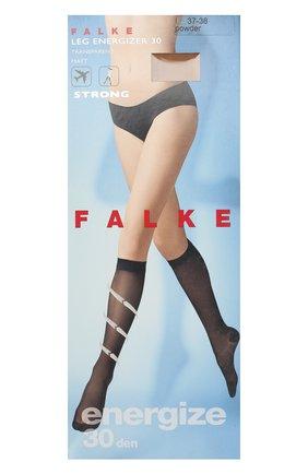 Женские капроновые гольфы leg energizer FALKE бежевого цвета, арт. 41783_ | Фото 1