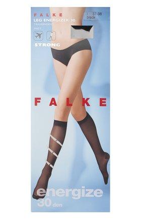 Женские капроновые гольфы leg energizer FALKE черного цвета, арт. 41783_ | Фото 1