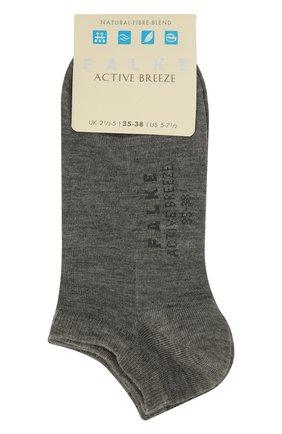 Женские носки active breeze FALKE серого цвета, арт. 46124_ | Фото 1