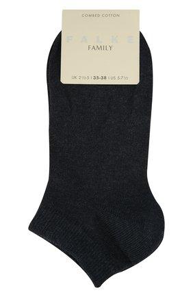 Женские хлопковые носки family FALKE синего цвета, арт. 47629_ | Фото 1