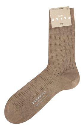 Женские шелковые носки no. 2 finest silk FALKE бежевого цвета, арт. 46175_ | Фото 1