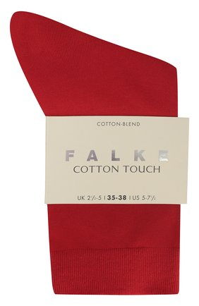 Женские хлопковые носки cotton touch FALKE красного цвета, арт. 47673_ | Фото 2