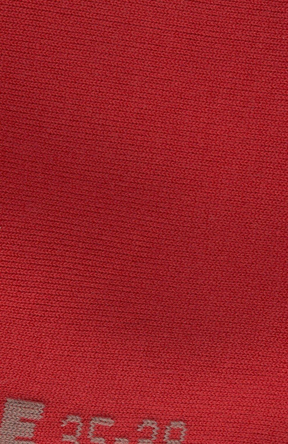 Женские хлопковые носки cotton touch FALKE красного цвета, арт. 47673_ | Фото 3