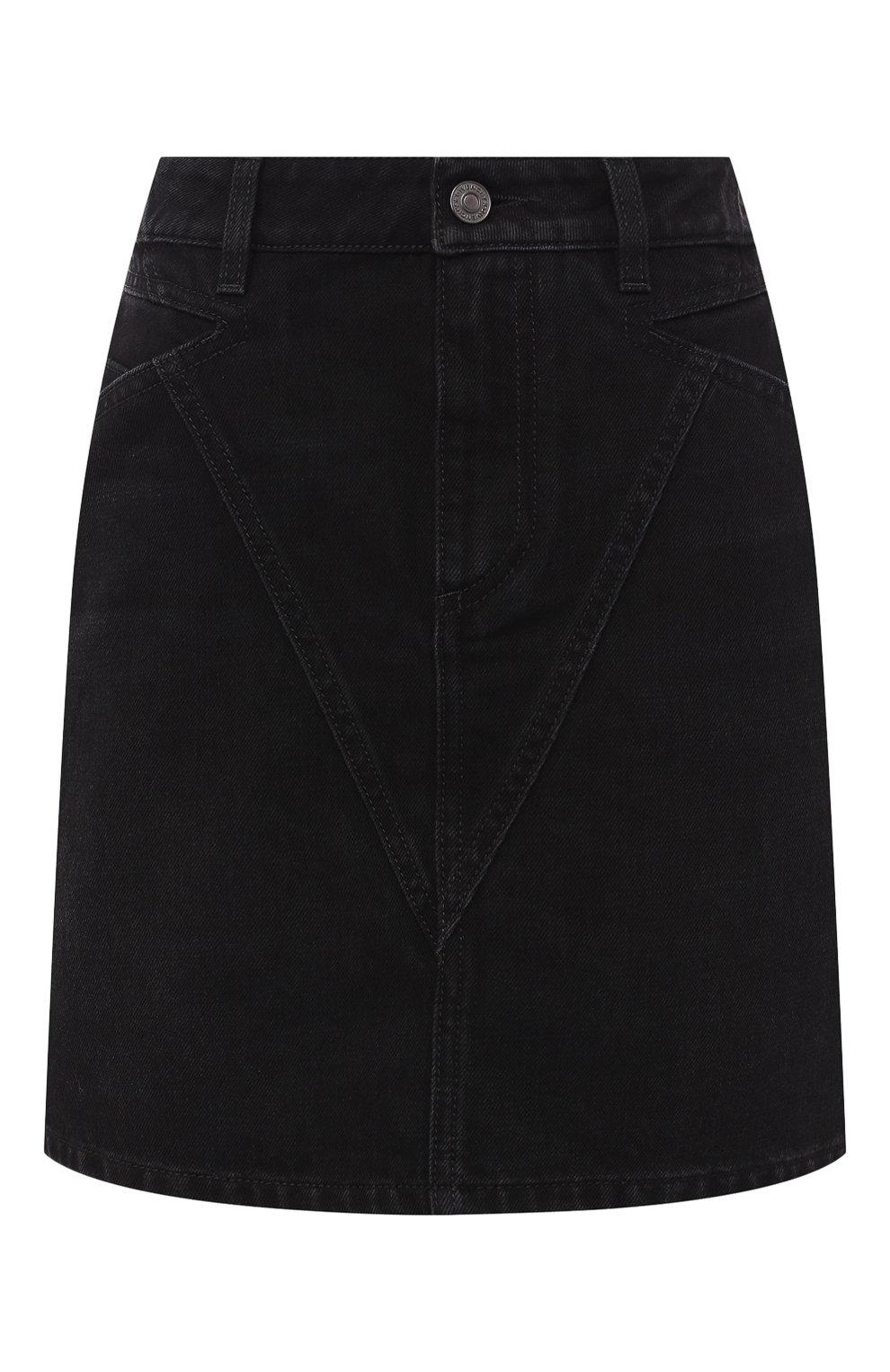 Джинсовая мини-юбка   Фото №1