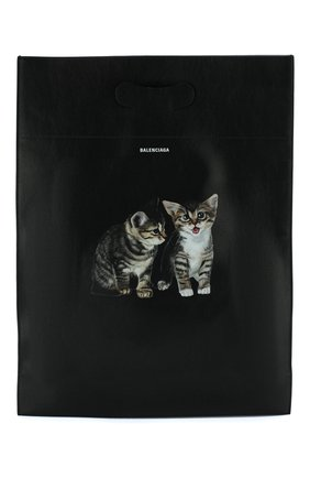 Кожаная сумка-шоппер | Фото №1
