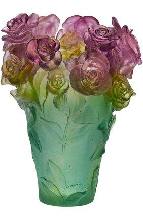Ваза rose passion DAUM разноцветного цвета, арт. 05282 | Фото 1