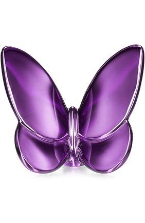 Мужского скульптура papillon BACCARAT фиолетового цвета, арт. 2 103 586 | Фото 1