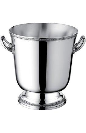 Мужского ведро для шампанского malmaison CHRISTOFLE серебряного цвета, арт. 04240431 | Фото 1
