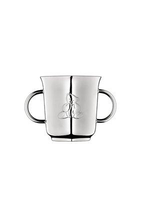 Мужского чашка с ручками charlie bear  CHRISTOFLE серебряного цвета, арт. 04260565   Фото 1