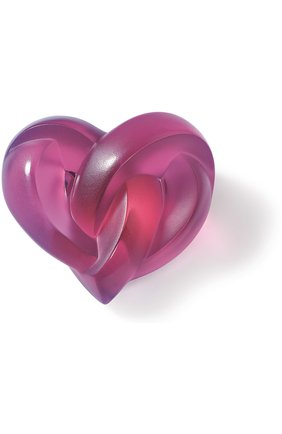 Мужского пресс-папье hearts LALIQUE розового цвета, арт. 1184720 | Фото 1